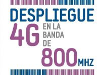 Despliegue de 4G en la Banda Ancha de 800 MHZ